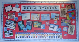 Media Studies Club Display