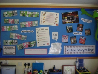 Online Storytelling Display