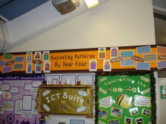Repeating Patterns Display