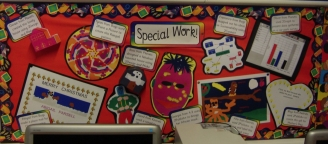Special Work Display
