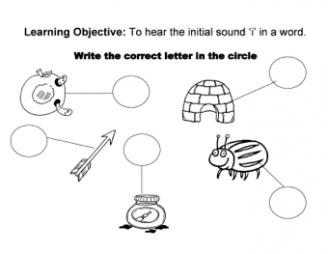 Initial Sounds