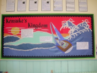 Kensuke's Kingdom Display