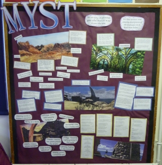 Myst Descriptions Display