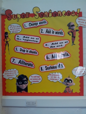 Super Sentences Display