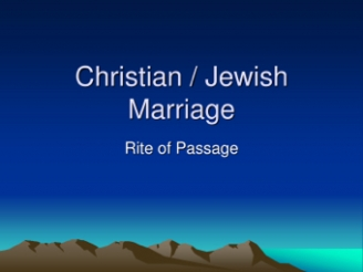 Marriage in Christianity