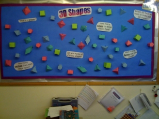 3D Shapes Display