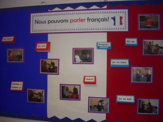 We Can Speak French display