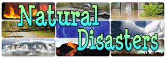 Natural Disasters Banner