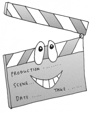 Clapperboard Display Picture