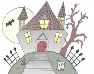 Haunted House Display Picture