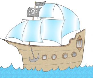 Pirate Ship Display Picture