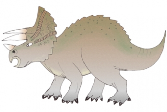 Triceratops Display Picture