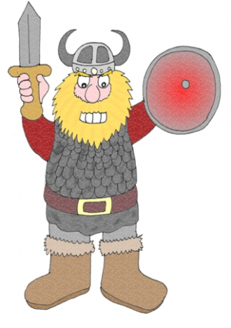 Viking Warrior Display Picture