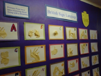 British Sign Language Display