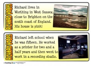 Richard Vobes Fact Cards
