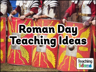 Teaching Ideas for a Roman themed Day!