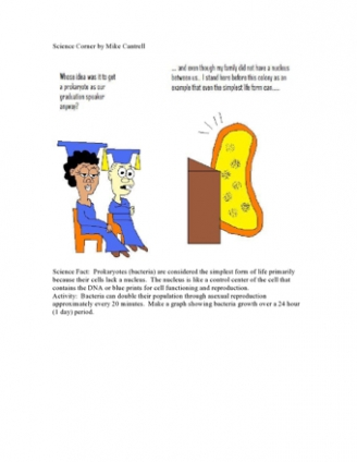 Science Comics - Prokaryotes