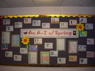 An A to Z of Spring Display