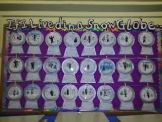 If I Lived in a Snow Globe Display
