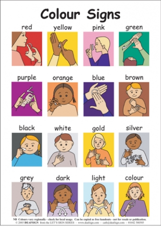 photograph about Asl Animal Signs Printable called Indication Language Training Options