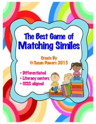 Matching Similes Game
