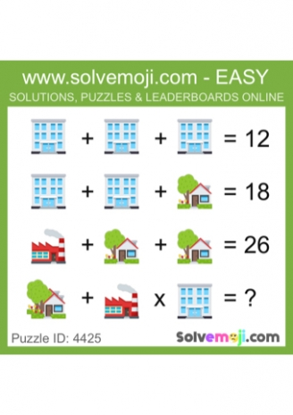 Emoji Maths Puzzles