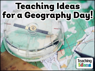 Teaching Ideas for a Geography Day!