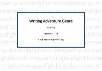The Adventure Writing Pack