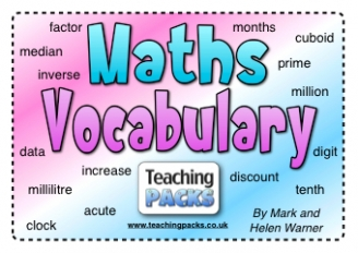 The Maths Vocabulary Pack