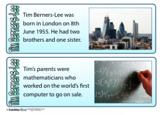 Tim Berners-Lee Fact Cards
