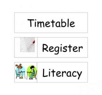 Timetable Display Labels