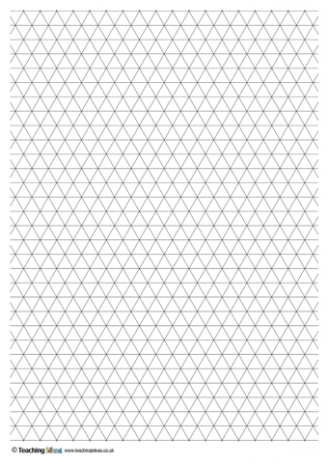 Triangle Grid Paper