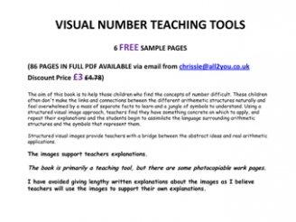 Visual Number Teaching Tools