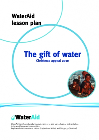 WaterAid Christmas Plans
