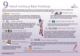 9 Handwriting Best Practices