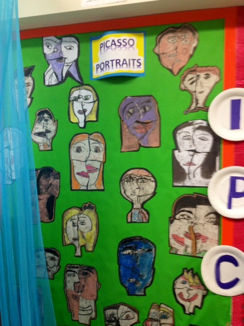 Picasso Portraits Display