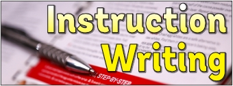 Instruction Writing Banner