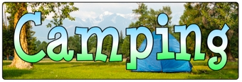 Camping Banner