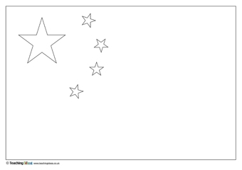picture relating to Chinese Flag Printable named Chinese Flag Instruction Strategies