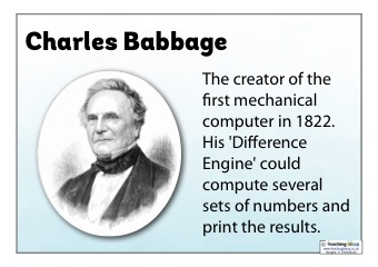 Computing Pioneers Cards and Posters
