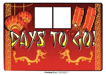 Countdown to Chinese New Year Poster