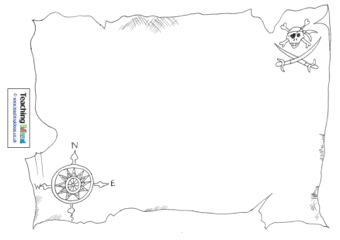 Map Of Uk Template.Design A Treasure Map Teaching Ideas