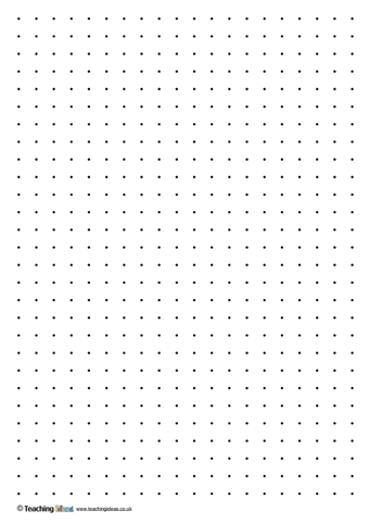 photograph about Dotty Paper Printable titled 2d designs template