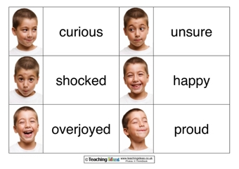 image regarding Feelings Cards Printable titled Emotions Playing cards Coaching Tips