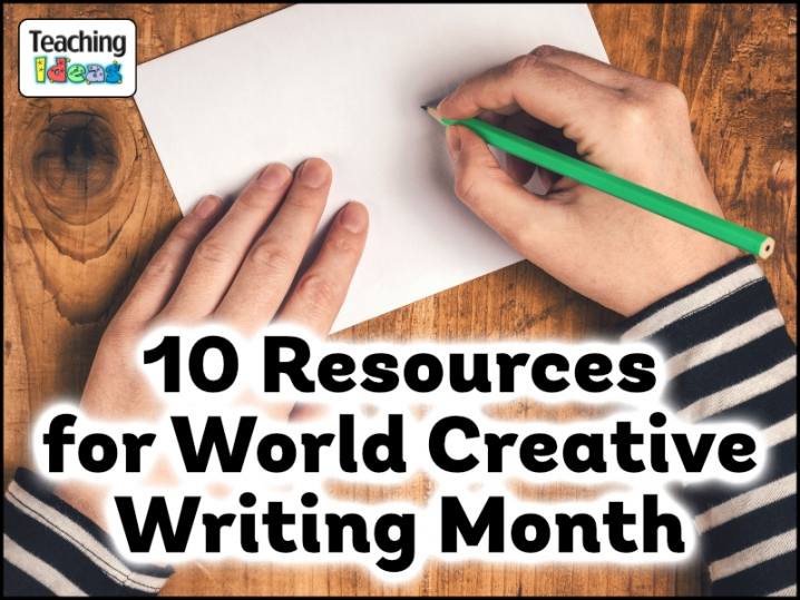 Ten Resources for World Creative Writing Month!