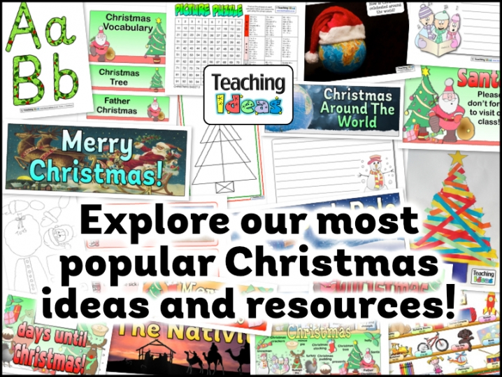 Explore our Most Popular Christmas Ideas and Resources!