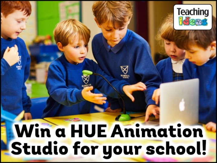 Win a HUE Animation Studio Kit for your school!