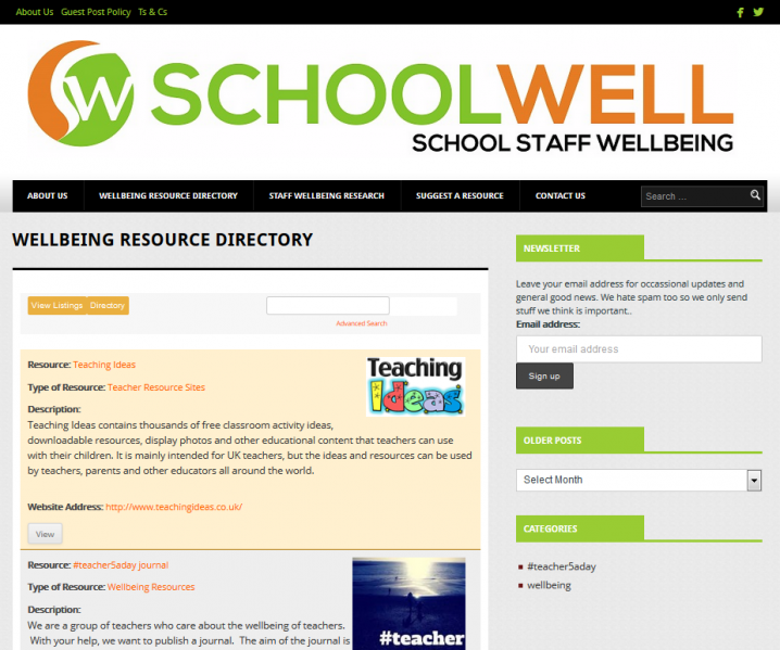 schoolwell directory