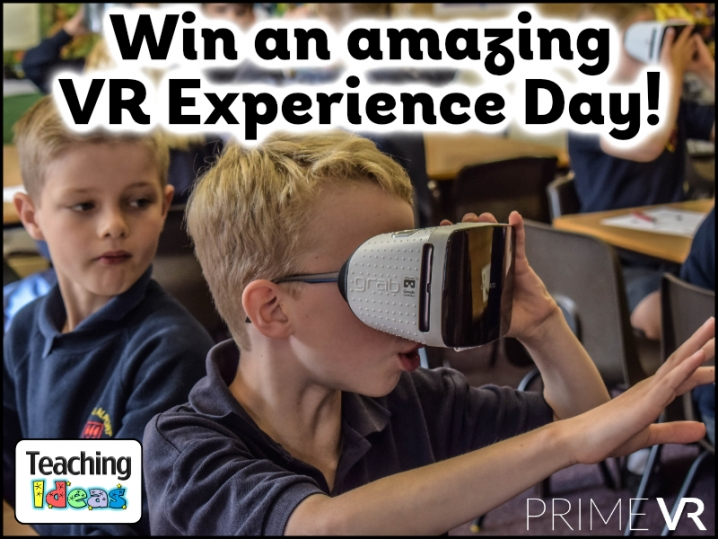Win an amazing VR experience for your school!