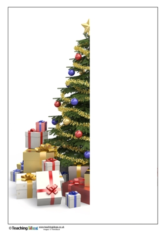 Finish the Picture - Christmas Tree